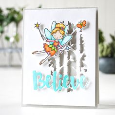 my world: STAMPtember® at Simon Says Stamp! I do believe in fairies! I do! I do!