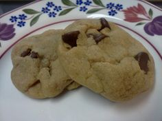 I love these rich, very sweet, addictive cookies. I adapted this recipe from one I found and loved on allrecipes.com. I have altered it somewhat to suit my tastes and my preferred baking techniques but this is based on the recipe known there as Aunt Coras Worlds Best Cookies. Cook time is per batch, cooking one sheet at a time.