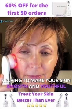 Diy Beauty Face, Beauty Care, Beauty Skin, Face Treatment, Skin Treatments, Sagging Skin, Face Skin Care, Health And Beauty Tips, Anti Aging