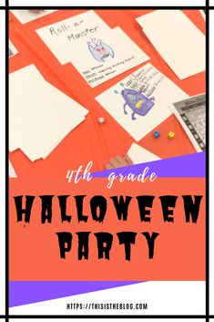 Halloween Party Ideas | Halloween Class Party | 4th Grade Halloween Party | Creative