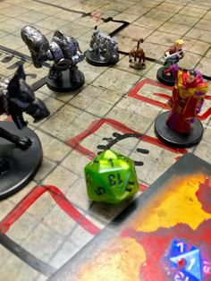 Shackled City: Part Seven: Bad Luck Dungeons And Dragons Adventures, The Mimic, Hobgoblin, Archetypes, Malachite, Dice, Minis, Rpg, Cubes