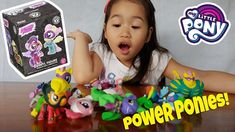 Thanks to our very generous sponsor, we finally have a full set of Power Pony toys Jec-jec has been raving for months. This set is an i. Full Set, Ponies, My Little Pony, Kids Toys, Childhood Toys, Children Toys, Pony, Mlp, Front Bangs