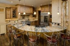 Moderne rustikale Küche
