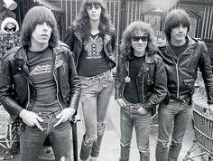 superblackmarket:  The Ramones, 1977