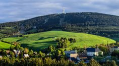 Oberwiesenthal in Duitsland