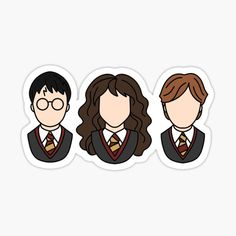 Harry Potter Fan Art, Stickers Harry Potter, Harry Potter Drawings, Harry Potter Tumblr, Stickers Kawaii, Preppy Stickers, Cute Laptop Stickers, Cool Stickers, Printable Stickers