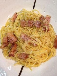 パルミジャーノと卵黄のみで作りました。 - 20件のもぐもぐ - カルボナーラ… by Ory