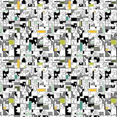 """""""Acres of Plenty"""" by Michele Rosenboom.  Available on Spoonflower via The Printed Bolt"""