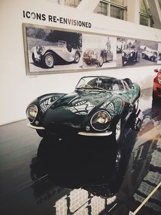 Steve McQueen's 1956 Jaguar XKSS. Just. Died.