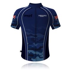Knight Sportswear - Royal Navy   Royal Marines Cycling Shirt - Royal Navy    Royal Marines Charity - Lest We Forget - Camouflage Cycling Shirt cee584d85