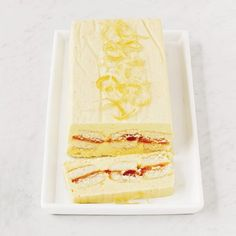 Lemon-Honey Semifreddo - Inspired by the semifreddos at restaurants like Cut in Beverly Hills, F's Grace Parisi creates her own version of this frozen mousse—an easier-to-make alternative to ice cream. Frozen Desserts, Frozen Treats, Just Desserts, Dessert Recipes, Dessert Ideas, Elegant Desserts, Baking Desserts, Delicious Desserts, Lemon Recipes