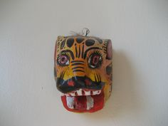 Mini jaguar mask, State of Quintanaroo, MX