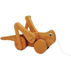 Grasshopper Woodworking Plan Kids will love watching Gary The Grasshopper's legs move as they pull him along. Gary is another fun pull toy in our great line up. FULL SIZE easy to follow plans make Gar #woodworkingbench #woodworkingtips
