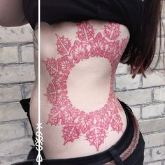 got a picture from this healed beauty today, thank you lisa!! ⭕️ #mandala #mandalatattoo #tattoo #linework #herzdame #lineworktattoo #redink #red #tilldth #tilldthtattoo #erntezeit #berlin #ink #inked #girlswithtattoos