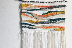 Lux Indie Woven Wall Hanging Woven Tapestry Wall Yarn