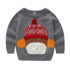"Product review for Christmas Sweaters for Boys Girls Round Neck Kids Knit Pullover Cotton Thick Sweaters.  Slivery Color aims to offer the latest in Kid's fashion. We are focused on delivering an exciting shopping experience and making sure that our high standards of quality, value for money and service are always met. ""Customer First, Service Foremost"" is the faith of our brand..."