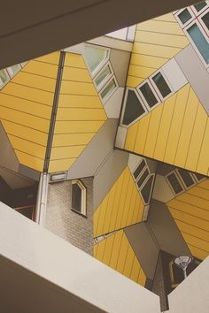 Top 10 Strangest Buildings in the World - Cubic Houses - Rotterdam, Netherlands