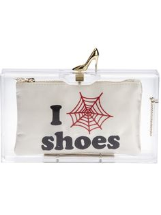 Charlotte Olympia 'Pandora' Clutch  (gasp @ $1186 price tag...need a knock-off)