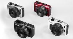 8 new cameras they could make in 2015... if they dared: a picture of the Canon EOS M image