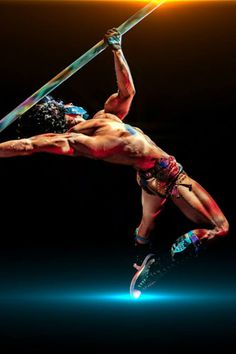 Pole gladiator | Solo | Chinese pole | Circus | Performers | Entertainment Agency | Corporate Entertainment