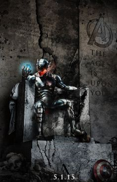 Avengers 2... the Rise of Ultron. Can't wait!!