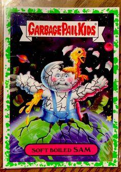 Garbage Pail Kids Chrome Series 1 Base Card 41a MEAN GENE