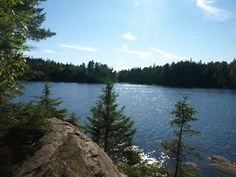 A quiet little lake in Algonquin