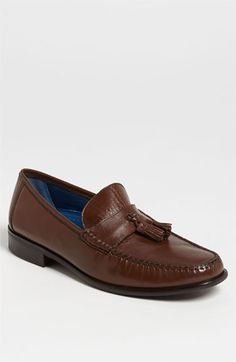 $115, Florsheim Sarasota Tassel Loafer. Sold by Nordstrom. Click for more info: https://lookastic.com/men/shop_items/3278/redirect