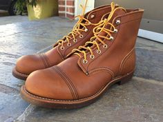NEW Red Wing Iron Ranger 8112 Oro-Iginal Leather 10.5 D #RedWing #IronRanger8112