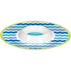 Cool Sea Chip & Dip Tray 13in - Party City Canada