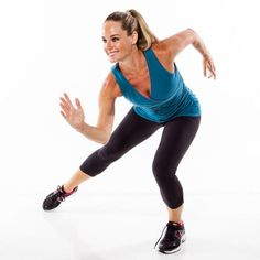 Complete the Stationary Skater for a quick low-impact, fat-burning move.