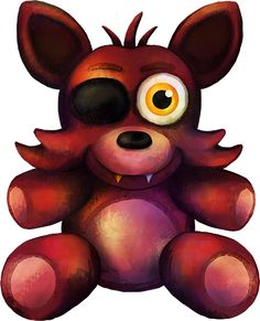Five Nights at Freddy's FNaF4 Foxy Plush by kaizerin on DeviantArt