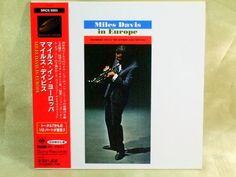 CD/Japan- MILES DAVIS In Europe w/OBI RARE MINI-LP Herbie Hancock Tony Williams #ModalHardBop