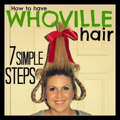 How to throw your very own Whobilation Party with Whoville Hair!