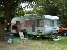 Girlie trailer.  Love it. Good post on the website about what to look for when looking to purchase a used trailer.