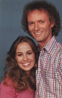 "Luke and Laura of ""General Hospital"".I never watched General Hospital a lot but I do remember Luke and Laura. My Childhood Memories, Sweet Memories, Tango, Luke And Laura, Baby Boomer, Old Tv Shows, Teenage Years, General Hospital, Before Us"