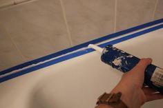 How To Recaulk A Bathtub