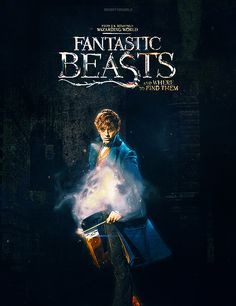 Fantastic Beasts and Where to Find Them - Newt Scamander/Norbert Dragonneau Harry Potter Universal, Harry Potter Movies, Harry Potter World, Eddie Redmayne, Fantastic Beasts And Where, Film Serie, Mischief Managed, Magical Creatures, Movies Showing