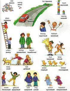 Learn German with us! Learn Russian, Learn German, Learn English, German Grammar, German Words, German Language Learning, Russian Language, German Resources, Study German