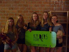 Dit test team heeft het helaas niet gehaald.  Ze verdienen wel het groene bord, omdat ze de kamer hebben getest! www.keldersescape.nl