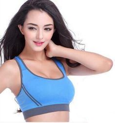 17acd5c01e Sexy Removable Fitness Athletic Yoga Top Sports Bra