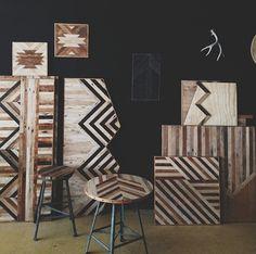 wood work by Ariele Alasko.