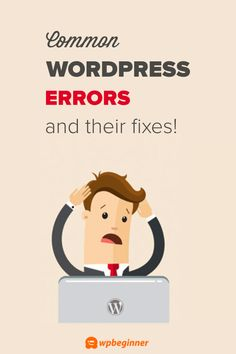 Are you encountering one of these common WordPress errors. Learn how to fix some of the most most common WordPress errors (Step by Step Beginners Guide). Wordpress For Beginners, Learn Wordpress, Blogging For Beginners, Pop Up Ads, Reading Tips, Wordpress Website Design, Good Tutorials, Online Work, Blog Tips