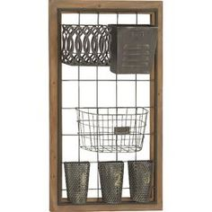 6-Basket Wall Rack