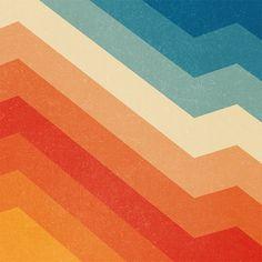 color palette lostinpattern: Barricade by Tracie Andrews Retro Kunst, Retro Art, Retro Wallpaper, Wallpaper Backgrounds, Retro Color Palette, Retro Colours, Orange Color Palettes, Basic Colors, Logos Retro