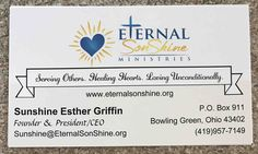 Hi, my name is Sunshine Griffin. I am a single mom of 3, full time student (Business Management), and youth leader and Christian counselor. I am in the process of developing a Christian Nonprofit Organization. Donate to my organization and share on social media, please!!