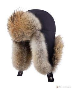 Зимняя меховая шапка аляска