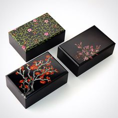 Image Japanese Art, Decorative Boxes, Gift Wrapping, Image, Collection, Design, Home Decor, Products, Jewelry Storage