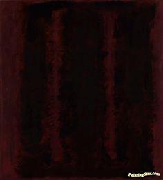 Mark Rothko 'Black on Maroon', 1958 © Kate Rothko Prizel and Christopher Rothko/DACS 2015 Mark Rothko Paintings, Rothko Art, Jackson Pollock, Expressionist Artists, Abstract Expressionism, Flat Picture, Tate Gallery, Abstract Painters, Abstract Art
