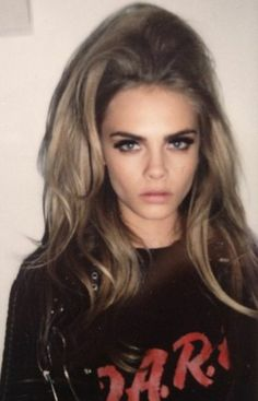 cara-delevingne hair & makeup